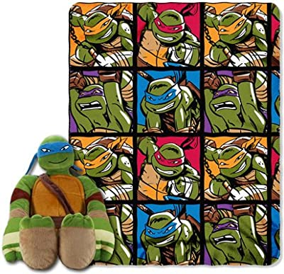 The Northwest Company Northwest Tmnt Warrior Spirit Hugger Throw