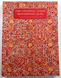 The Colonial Andes, Elena Phipps, 1588391329