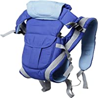 Chinmay Kids® Baby Carrier 4 in 1 Carry Bag Baby Carrier Cuddler (Air Mash Fabric) (Blue)