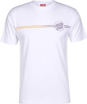 Santa Cruz Opus Dot Stripe Fade Camiseta