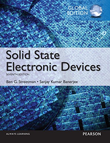 Solid State Electronic Devices, Global Edition