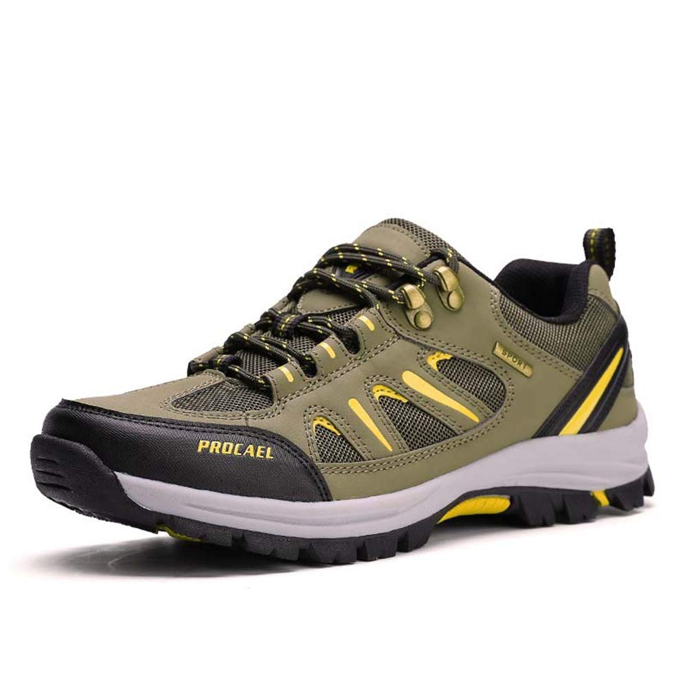 Green Lable 43 9 D(M) US Men CHENSF Mens Hiking shoes Men's Outdoor Sports shoes Breathable Running shoes