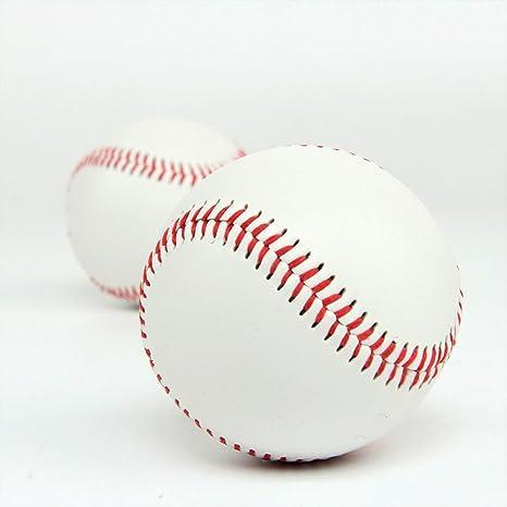 Cestval Pelota de béisbol reglamentaria, con costuras, uso ...