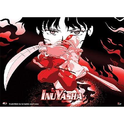 Inuyasha Naraku Inuyasha And Sesshomaru Anime Wall Scroll