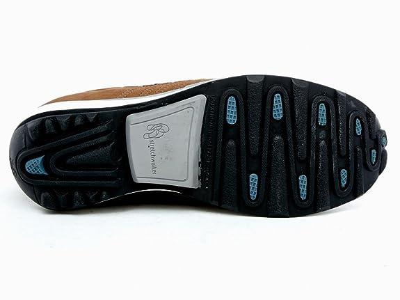 9c34fedb995403 Xsensible Stretchwalker Schuhe Sneaker Leder Braun Komfort Sohle Größe 37   Amazon.de  Schuhe   Handtaschen