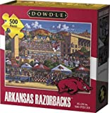 Best Razor Gift For 4 Year Olds - Jigsaw Puzzle- Arkansas Razorbacks 500 Piece Puzzle By Review