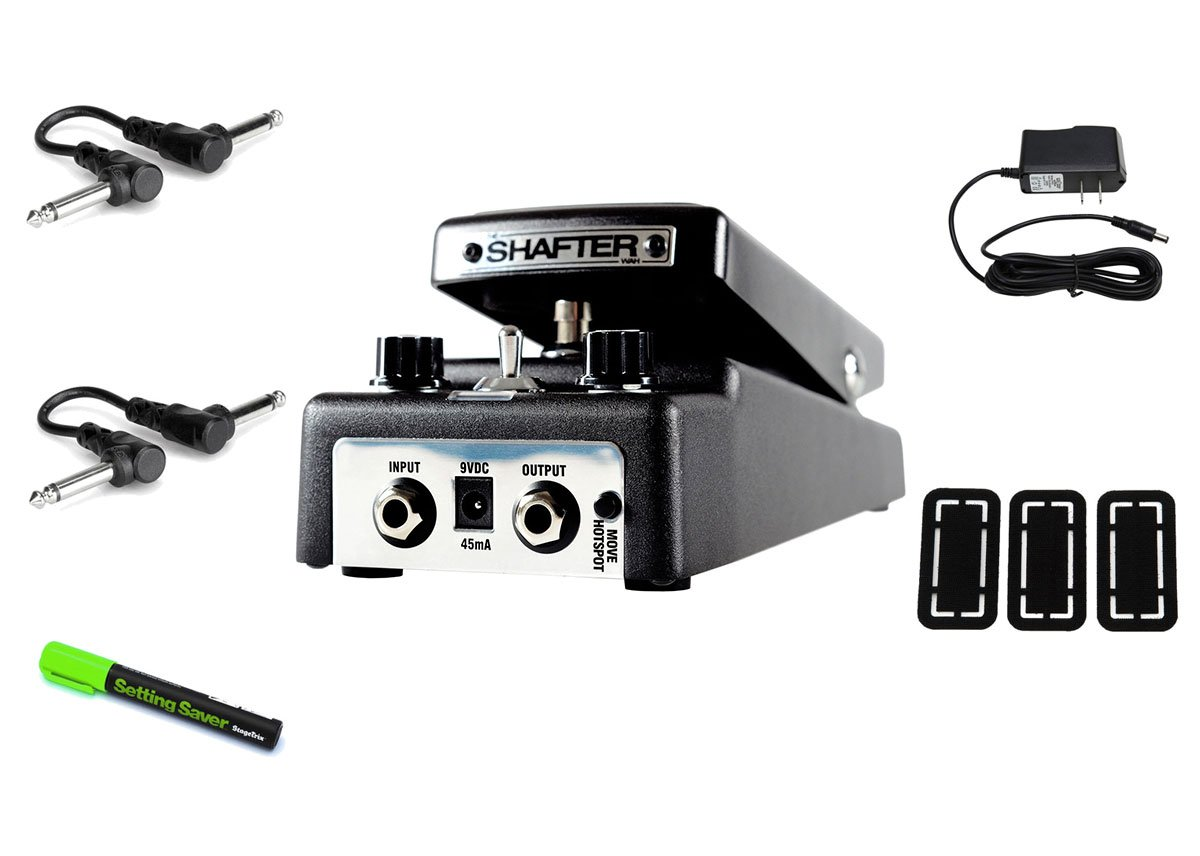 T-Rex Engineering The Shafter Triple Voice Analog Wah PRYMAXE PEDAL BUNDLE