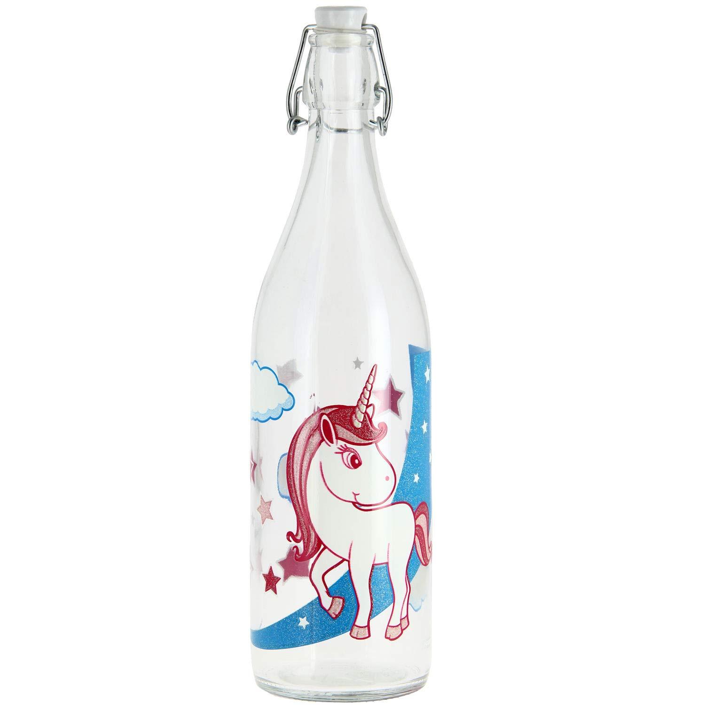 Cerve Botella con cierre hermético Unicornio 1 L. Plancha Botella ...