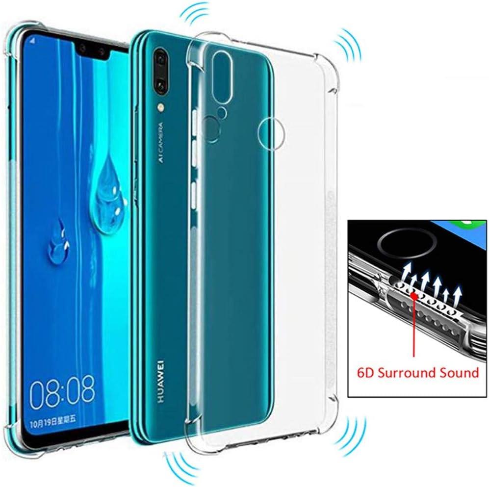 KuGi Coque Honor 8X Max / Huawei Y Max High quality smooth silicone back Étui Coque Housse De Protection pour Honor 8X Max Bleu