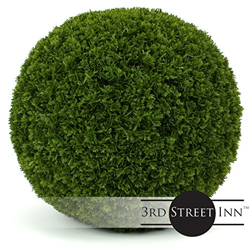 (3rd Street Inn Cypress Topiary Ball - 19