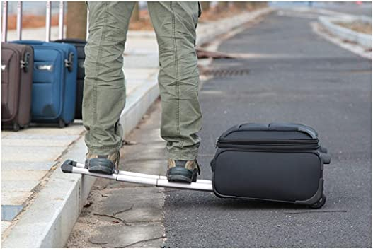 Best Gift 16 inches Carrying Luggage Color : Black, Size : 14 Black Bahaowenjuguan Soft Rotating Luggage Travel Organizer Trolley case