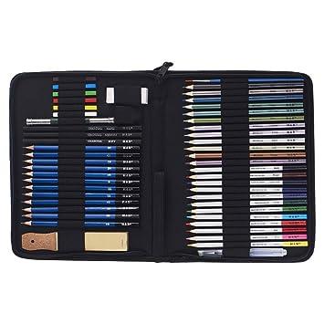 GaLon Juego de lápices de Colores de Pintura de 51 Piezas ...