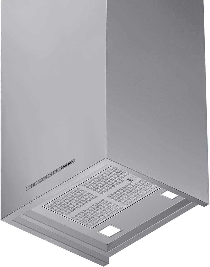 frecan – Campana Pared Square 600 Inox: Amazon.es: Grandes electrodomésticos