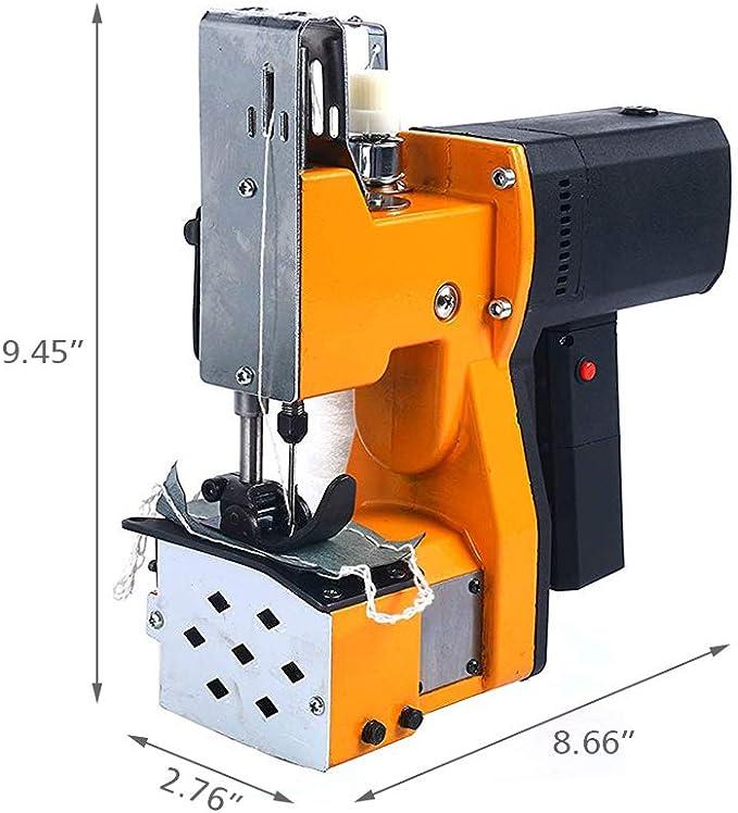 TOPQSC Máquina de coser portátil Eléctrica Portátil Selladora ...