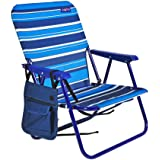 Amazon Com Big Kahuna Folding Beach Chair Extra Wide