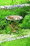 Happy Gardens 2-Tier Flamed Bird Bath