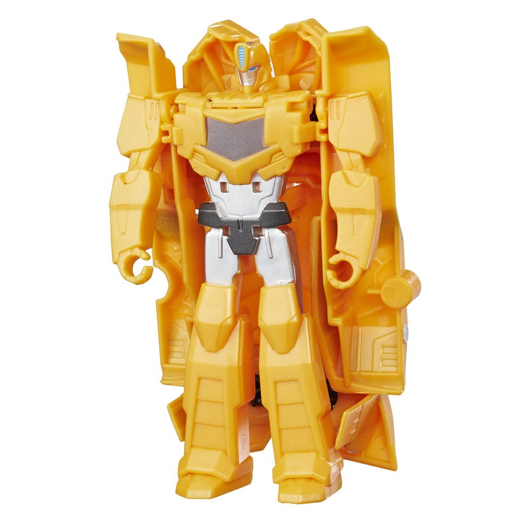 Hasbro Transformers C0646ES0 - Robots In Disguise 1-Step Changers Bumblebee, Actionfigur