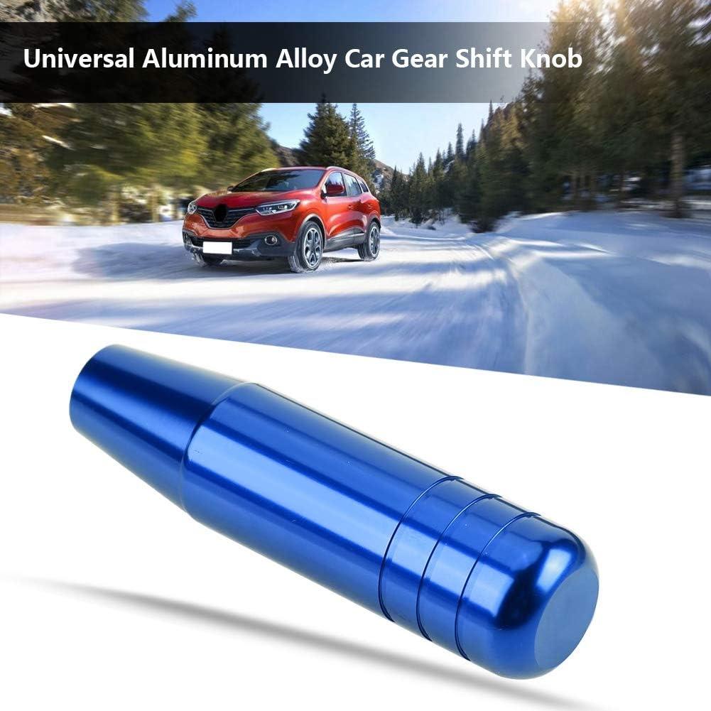 EBTOOLS Universal Car Manual Schaltknauf Griff Schalthebel 13cm Aluminiumlegierung Swarchz
