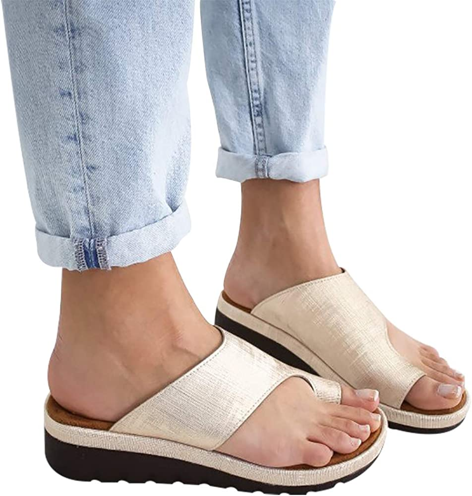 Forthery Mens Light Weight Solid Color Home Shoes Non-Slip Bathroom Slippers Thong Sandals Flip Flops