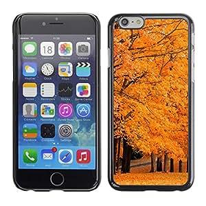 Be Good Phone Accessory // Dura Cáscara cubierta Protectora Caso Carcasa Funda de Protección para Apple Iphone 6 // Autumn Tree