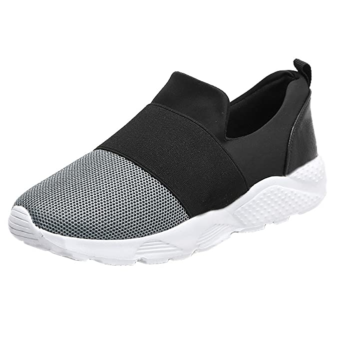 d4dc238718e2 ZODOF Zapatillas De Deporte para Mujer,Zapatos Planos Gruesos ...