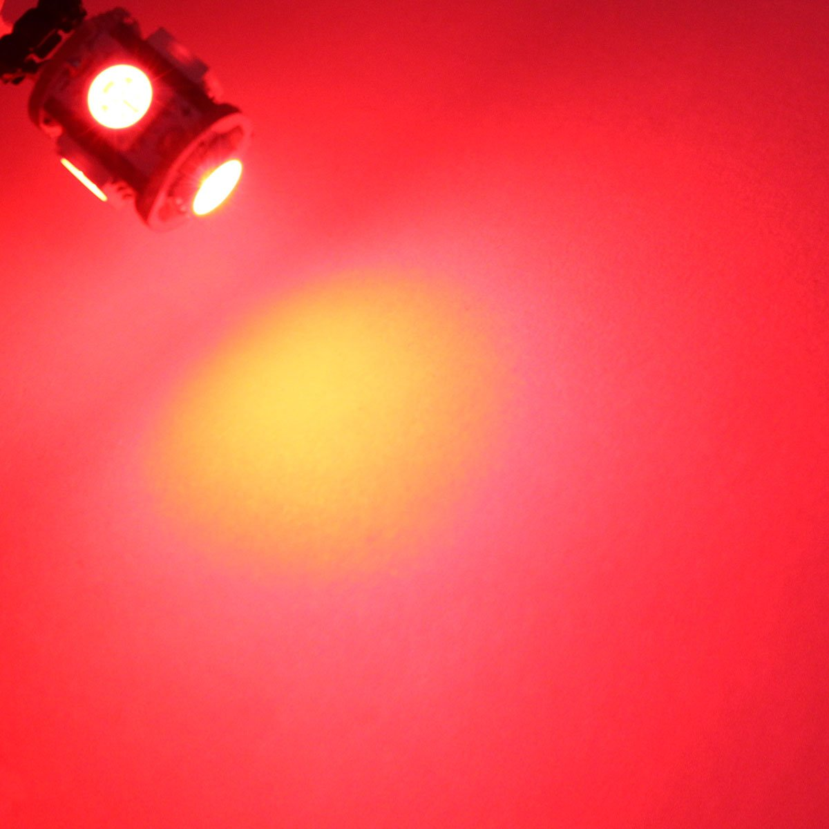 Ledingway ligting Co Ltd 4350379842 Red WeiXuan 4 PCS BA9S T4W 64111 64113 BA9 LED Car Interior Bulbs Map Reading Parking Light
