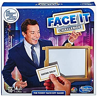 Hasbro Gaming The Tonight Show Starring Jimmy Fallon Face It Challenge Party Game for Teens and Adults: Toys & Games