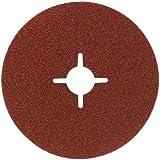 Bosch 2609256243 - Muela de fibra, Marrón, 125 mm, granulación: 36