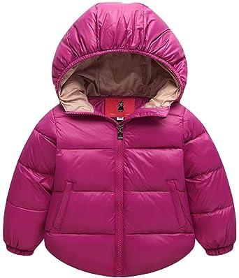 Niños Abrigo de Plumas Chaquetas Snow Parka para Bebés Chico ...