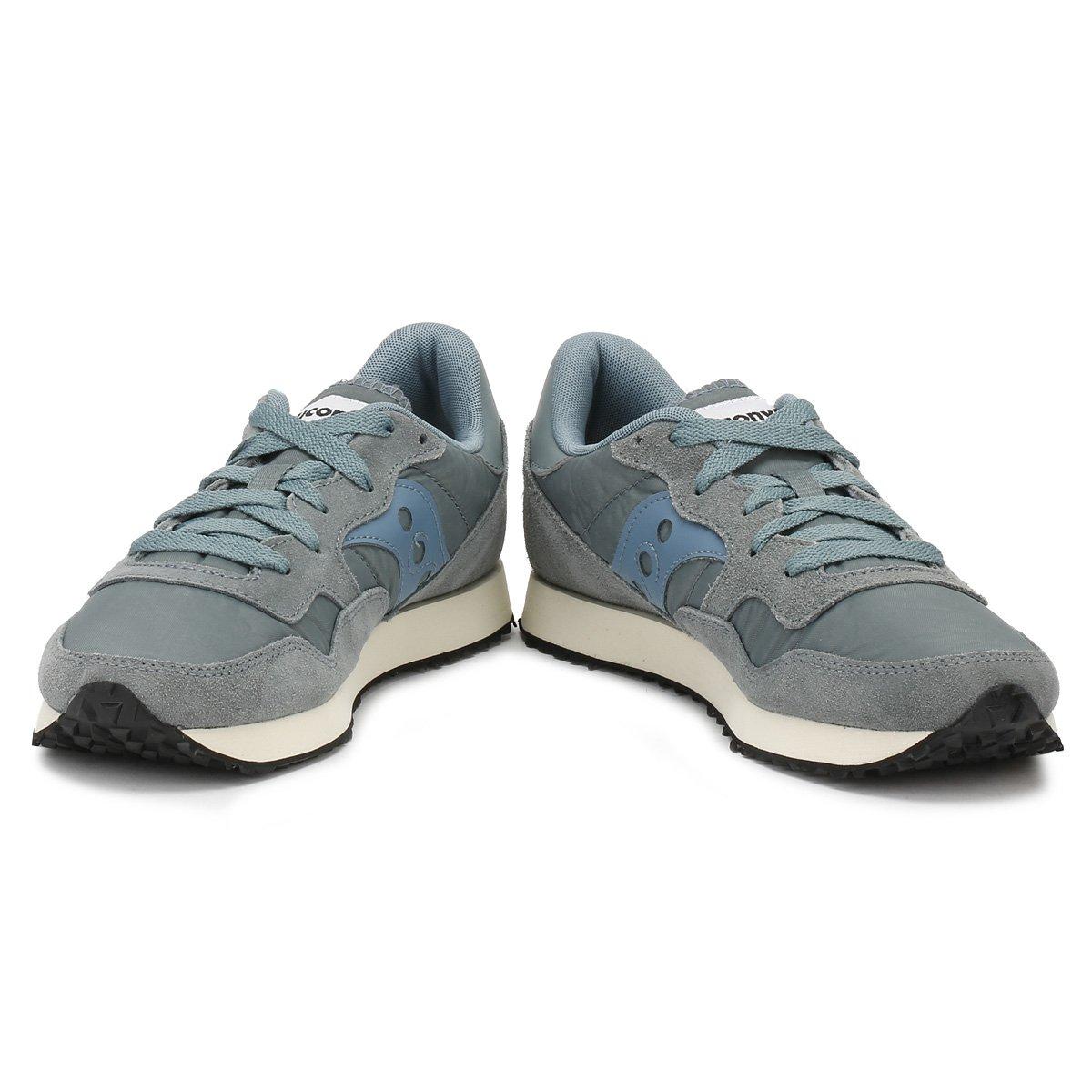 Saucony Dxn Trainer Trainer Trainer Vintage Aqua Grau 692 Damen Sneakers (Aqua/Grau) - b24b78