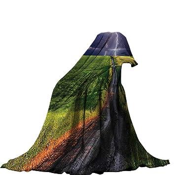 15655b11ddac6 Amazon.com: QINYAN-Home Digital Printing Blanket (62
