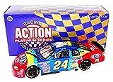 2X AUTOGRAPHED 1998 Jeff Gordon & Rick Hendrick #24 DuPont Racing RAINBOW WARRIOR PAINT SCHEME (Hendric Motorsports) Rare Vintage Signed Action 1/24 NASCAR Diecast Car with COA