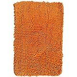 orange area rug. Hughapy Orange Non Slip Microfiber Carpet/Doormat / Floor Mat/Bedroom Kitchen Shaggy Area Rug