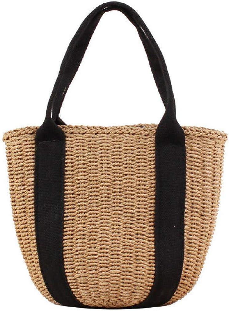 Portable Bucket Women Straw...