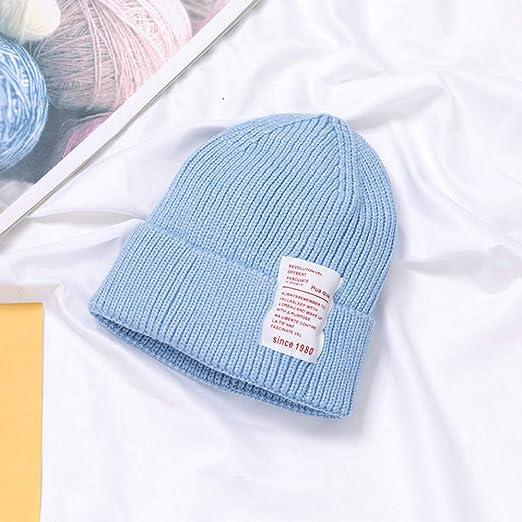 mlpnko Sombrero de Lana inglés estándar para niños, Gorro para ...