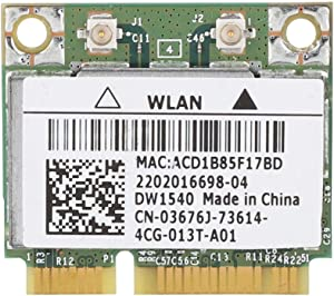 2.4/5 GHz Wireless Network Card, for Dell Broadcom BCM943228HM4L DW1540 Dual-Band Mini PCI-e WiFi Card 802.11 a/b/g/n
