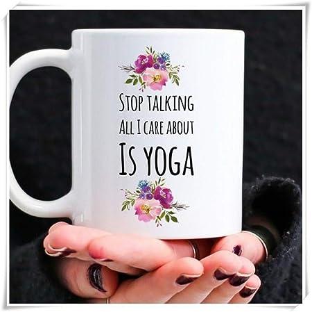 Nisdsgd Funny Yoga Coffee Mug For The Obsessed Yogi Or ...