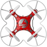 FQ FQ777-124 Pocket Drone 4CH 6Axis Gyro Quadcopter with Switchable Controller RTF Red