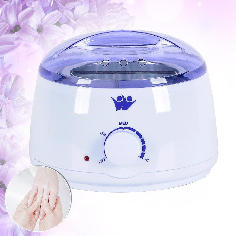 AceFox Wax Handle Pot Waxing Heater Warmer Hair Removal Depilatory Paraffin Beauty
