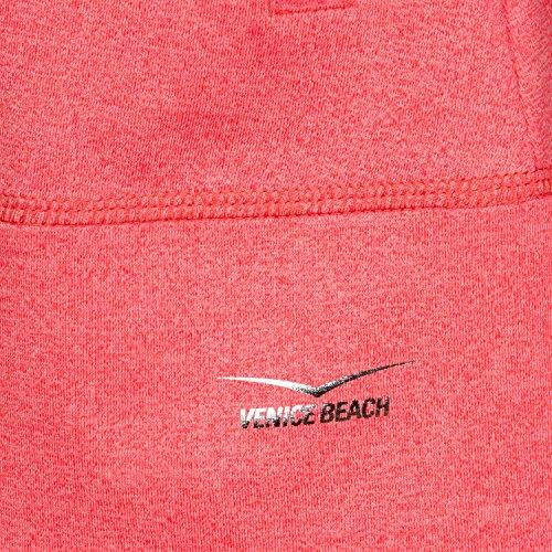Coral 13734 Venice Beach Zip Felpa Corallo Larissana Rosso Con fiery qRvx6Zz