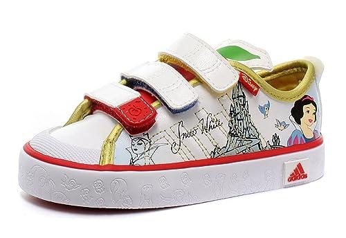 Adidas Disney Princess I Snow White Baby Baskets Sneakers, blanc, Pointure  27 16d1ef122818