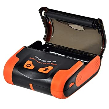Actualización4.0] 80 mm Impresora Térmica Bluetooth Directa 230 mm ...