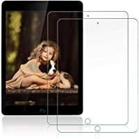 [2 Pack] OKP ipad 10.2 Screen Protector for iPad 7th Generation (2019), Clear Tempered Glass Film ipad 7th Generation Screen Protector with Anti-Scratch/High Definition/Bubble Free