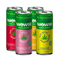 Deals on 4-Pack Wowie by Tranquini Hemp-Infused Beverage