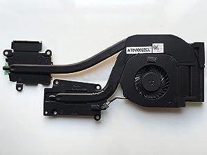 Z-one Fan Heatsink Replacement for Dell Latitude E6540 Series CPU Cooling Fan Heatsink DP/N 072XRJ 4-Wires