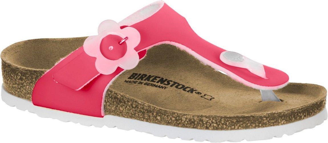 687fb8a27c06 Birkenstock Gizeh Kid s Candy Pink Birko-Flor Sandals 31 EU (US 13-13.5  Little Kid)