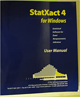 Statxact software downloads