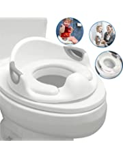 EasyGoProducts Cushion Portable Splash Features EasyGo Potty Boys Girls Backrest Toilet Seat is Anti-Slip-Training Tool for Baby Kids and Toddlers