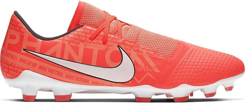 Nike Men's Phantom Venom Pro FG Soccer Cleats (Bright Mango/White) (12  Women / 10.5 Men M US)