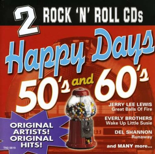 Happy Days 50's & 60's by Madacy Records